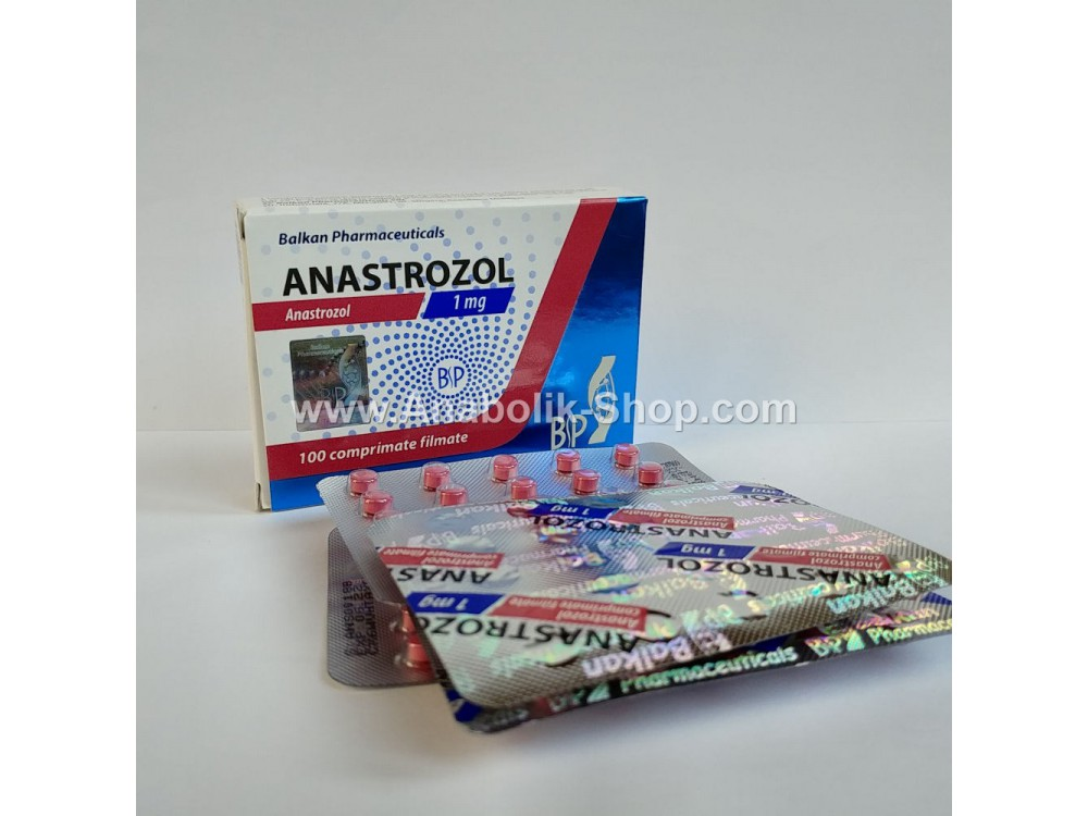 Anastrazole 1mg Balkan Pharmaceuticals 25 tablets