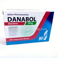 Danabol Balkan Pharmaceuticals 100 tablets