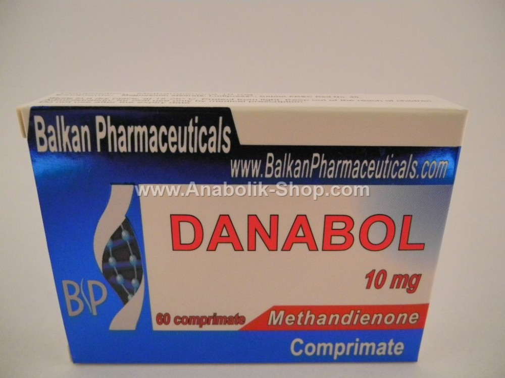 120 tablets Danabol Balkan Pharmaceuticals