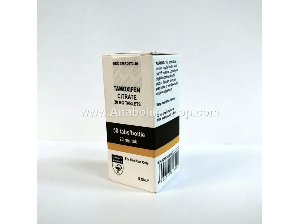 Tamoxifen Citrate 50 tablets 20mg Hilma Biocare