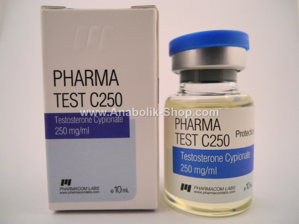 Pharma Test C 250 Testosterone Cypionate Pharmacom Labs