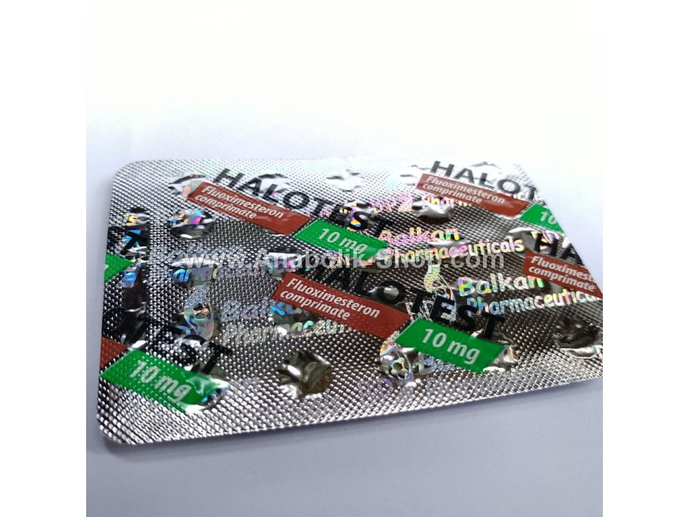 Halotestin Balkan Pharmaceuticals 25 tablets