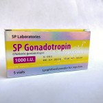 Gonadotropin  5 x  1000 UI SP Laboratories
